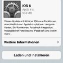 iOS 6 steht ab sofort zum Download bereit. (Bild: Screenshot)