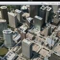 ...in Houston befinden sich beispielsweise Tankstellen auf Wolkenkratzern. (Bild: theamazingios6maps.tumblr.com)