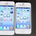 Das Display fällt mit vier Zoll beim iPhone 5 (links) etwas größer aus. Ein Qualitätsunterschied ist aber nicht zu erkennen. (Bild: netzwelt)