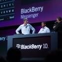 Der BlackBerry Messenger wurde vor allem optisch aufgebohrt. (Bild: RIM)