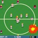 Passing Time ist ein arcadiges Fußballspiel mit Feuerbällen. (Bild: Sony)