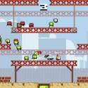 Bei Super Crate Box lassen Grafik und Spielprinzip Erinnerungen an alte Arcade-Klassiker wach werden. (Bild: Sony)