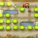 Bäume pflanzen und dabei Traktor fahren - darum geht es grob in Tractor Tails. (Bild: Sony)