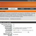 Der Router bietet übliche Ausstattung wie Mac-Filterung und andere Optionen. Auch Quality of Service zur Priorisierung von Datenpaketen ist integriert. (Bild: Screenshot)