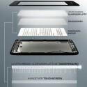 Gleichmäßige Ausleuchtung und geringer Stromverbrauch: Nur vier LEDs leiten das Licht über eine Glasfaserplatte auf den Bildschirm des Paperwhite. (Bild: amazon.de)