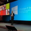 Auch Microsoft Deutschland-Chef Christian P. Illek war vor Ort. (Bild: netzwelt)