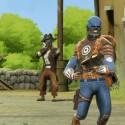 In eine ganz andere Richtung ging Battlefield Heroes. Dieser Teil besticht durch seinen Comic-Look und dem fiesen Humor.  (Bild: ea.com)