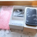 Im Karton liegt das HTC One X+ sicher verpackt. (Bild: netzwelt)