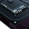 Anschlussvielfalt: Der Samsung UE 55 D 7090 verfügt über alle wichtigen Schnittstellen sowie ein integriertes WLAN-Modul. Dennoch bietet der Fernseher gleich drei USB-Ports. (Bild: netzwelt)