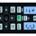 Nachtsicht: Dank der beleuchteten Fernbedienung lässt sich der UE 55 D 7090 auch bei Dunkelheit problemlos steuern. Die Tasten sind sinnvoll gruppiert. (Bild: netzwelt)