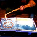 Das erste Spiel für das Wonderbook ist in Zusammenarbeit mit J.K. Rowling entstanden. (Bild: netzwelt)