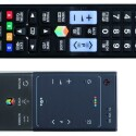 Neben dem klassischen Signalgeber legt Samsung seinem 75-Zoll-Boliden auch eine Touch-Pad-Fernbedienung bei, die aber nicht jedermanns Sache ist. (Bild: netzwelt)