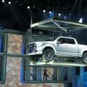 Ford Atlas Concept: Eine große Show lieferte Ford zur Vorstellung des Pickups Atlas Concept ab. (Bild: netzwelt)