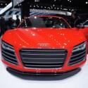 Audi präsentiert neben zahlreichen S-Varianten auch den R8 in Detroit. Eckdaten: Zehnzylinder-Motor mit bis zu 550 PS. (Bild: netzwelt)