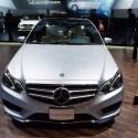 Premiere feiert auch die neue E-Klasse von Mercedes in Detroit. (Bild: netzwelt)