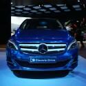 Mercedes B-Klasse Electric Drive: Mit dieser Studie gibt Mercedes Benz einen Ausblick auf die rein elektrische Zukunft. Serienreife soll der Wagen 2014 erlangen. (Bild: netzwelt)