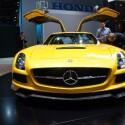 Ein alter Bekannter, aber immer wieder schön: Mercedes Benz SLS (Bild: netzwelt)