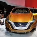 Der Nissan Resonance SUV Concept gibt einen Ausblick auf die Zukunft des Murano. Als Antrieb kommt eine Kombination aus Verbrennungs- und zwei Elektro-Motoren zum Einsatz. (Bild: netzwelt)