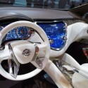 """Blick in den Innenraum des Resonance SUV von Nissan. Das Cockpit ist """"dreidimensional"""" gestaltet. (Bild: netzwelt)"""