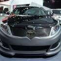 Kia brachte eine eigene Interpretation des Batmobil-Themas mit in die Messehallen von Detroit. (Bild: netzwelt)