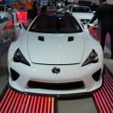 Nicht mehr taufrisch, aber immer noch sehr ansehnlich: Lexus LFA mit Zehnzylinder-Frontmittelmotor. (Bild: netzwelt)