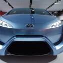 Bereits auf dem Automobilsalon in Genf vorgestellte Toyota-Studie FCV-R mit Brennstoffzellen (Bild: netzwelt)