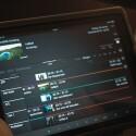 Der Fernseher lässt sich auch mit der iOS-App Assist Media von Loewe steuern. (Bild: netzwelt)