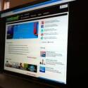 Als Internetbrowser ist Google Chrome integriert. (Bild: Screenshot)