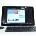 Sieht aus wie ein gewöhnlicher All-In-One-PC, ist aber auch ein Riesen-Tablet: Sony Vaio Tap 20 (Bild: netzwelt)