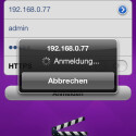 Für die Anwendung Video Station ist auch eine kostenlose iOS-App erhältlich. (Bild: Screenshot)