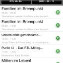 Mit der App lässt sich auch der EPG bequem steuern. (Bild: Screenshot)