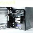 Mit maximal fünf Festplatten bietet das NAS eine Gesamtspeicherkapazität von zehn Terabyte. (Bild: netzwelt)
