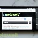 Das Sony Xperia Z wird von einem Quad-Core-Prozessor angetrieben. (Bild: netzwelt)