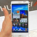 Der Bildschirm des Huawei Ascend Mate misst 6,1 Zoll. (Bild: netzwelt)