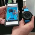 Die Smart Watch lässt sich mithilfe einer iOS-App steuern. (Bild: netzwelt)