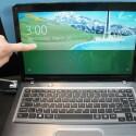 Das Modell U840t-101 ergänzt Toshibas Satellite-Reihe um ein Modell mit Touchscreen. (Bild: netzwelt)