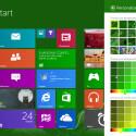 Neue Farben und Muster sind in Windows Blue enthalten. (Bild: winforum.eu/WyznawcaSlonia)