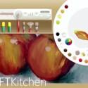 Die Anwendung Fresh Paint wird nach dem Update Wasserfarben beinhalten. (Bild: MSFT Kitchen)