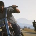 Auch mit dem Zweirad ist der Spieler unterwegs. (Bild: Rockstar Games)