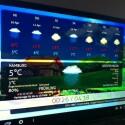 Aktuelle Wetterinformationen werden übersichtlich und optisch hübsch dargestellt. (Bild: netzwelt)