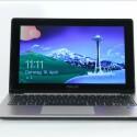 Statt eines IPS-Panels setzt Asus beim VivoBook auf günstigere Technik. Das hat stark eingeschränkte Blickwinkel zu Folge. (Bild: netzwelt.de)