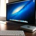 Apples kleinster Desktop-Rechner wird mit dem neuesten Betriebssystem des Herstellers, OS X Mountain Lion, ausgeliefert. (Bild: netzwelt)