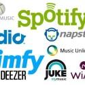 """Deezer, Spotify, Simfy, Napster, Juke, Rdio, Xbox Music, Wimp und Music Unlimited gehören zu den getesteten Streaming-Diensten. Einen Schnellüberblick finden Sie hier: <a href=""""/news/94983-musik-flatrate-bekanntesten-streaming-dienste-vergleich.html"""">Musik-Streaming-Dienste im Vergleichstest</a>. Unser Rundgang startet mit... (Bild: netzwelt.de)"""