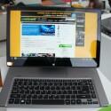 ...Acer spricht von vier unterschiedlichen Betriebsmodi. Auch ein ganz normaler Notebook-Modus ist dabei. (Bild: netzwelt)