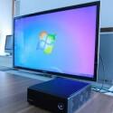 Standardmäßig wird der Shuttle-Barebone ohne Betriebssystem ausgeliefert. Die Installation von Windows 7 bietet sich an - das Windows Media Center wird automatisch mitinstalliert. (Bild: netzwelt)