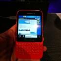 Das BlackBerry Q5 unterstützt schnelles Surfen in LTE-Netzen. (Bild: netzwelt)