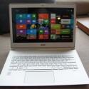 Auf Wunsch und gegen Aufpreis auch mit hochauflösendem WQHD-Display: Das S7-392 von Acer ist eines der ersten Ultrabook-Highlights der Computex. (Bild: netzwelt)