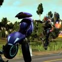 Der Funracer LocoCycle wird auch für die Xbox 360 erscheinen. (Bild: Twisted Pixel Games)