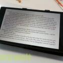 Die Display-Einstellungen lassen sich für das Lesen von eBooks optimieren. (Bild: netzwelt)