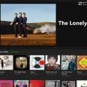 Xbox Music erstrahlt im neuen Design und ist nun benutzerfreundlicher. (Bild: Screenshot)